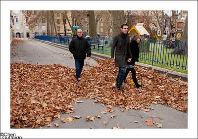 I like the fall, especially at Europe...