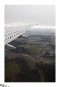 Zurich - a pattern of green and grey...