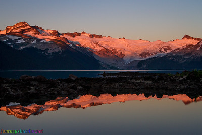 Sunset Over Lake Garibaldi