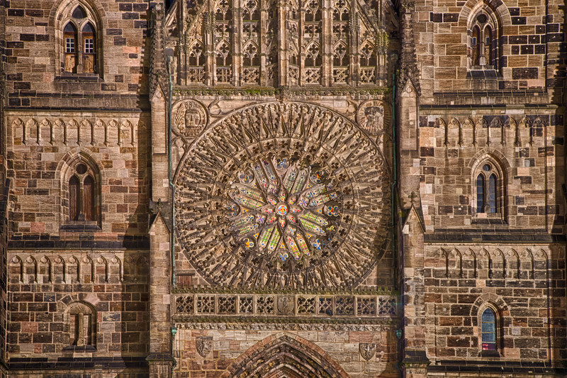 St. Laurenz Rose Window