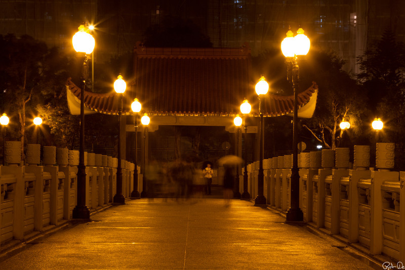 Lek Yuen Bridge at Sha Tin |