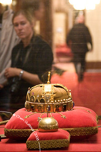 The Holy Crown and Orb. Budapest, Hungary, 2008.