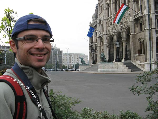 Me. Budapest, Hungary, 2008.