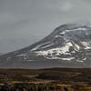 Stykkisholmur church and mountains, Snaefellsnes Peninsula, Iceland