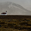 Ingjaldsholl Church, Snaefellsnes Peninsula, Iceland - oldest concrete church in the world, 1350. Christopher Columbus spent the winter of 1477-78 here getting information from Viking on the new world before his voyage.