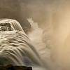 """Waterfall Gullfoss """"golden waterfall"""",  Hvita River, Iceland"""