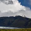 Skaftafell National Park, Iceland Vatnajokull ice cap and Grimsvotn volcano
