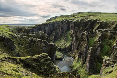 Canyon Fjaðrárgljúfur