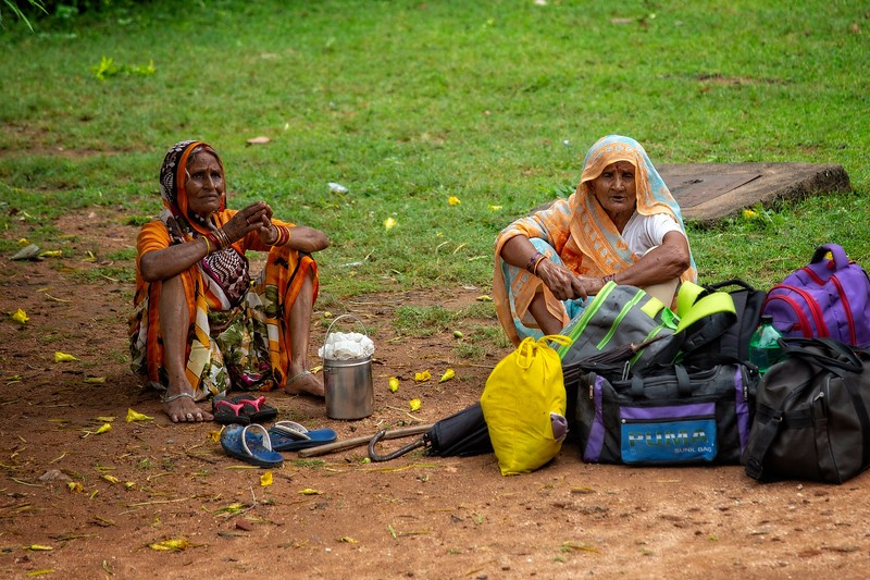Village Women, Orchha, India