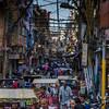 Old Delhi street scene.
