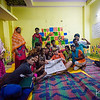 The kids and their advisors of the Balaknama newspaper.