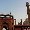 The Jama Masjid Mosque.