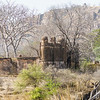 The ruins of the ancient Ranthambore Fort.