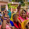 Pre-wedding festivities in the village of Sherpur Khilchipur.