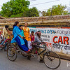 Varanasi street scene.