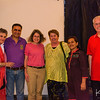 Arlene, Mary, Renee, Gordon, and I (not shown here) after our home-hosted dinner with Ruchi and her husband.
