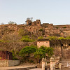 The Ranthambore Fort, built over 1000 year ago, gave its name to the surrounding national park.