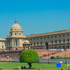 Rashtrapati Bhavan, the palatial residence of India's president.