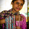 Our first gift purchase was a set of necklaces from this girl who sold them roadside in New Delhi.
