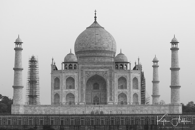This Image Of The Back Side Of Indiau0027s Iconic Taj Mahal Was Made From The  Moonlight Garden Across The River. Freed From The Usual Framing Of The  Front Of ...