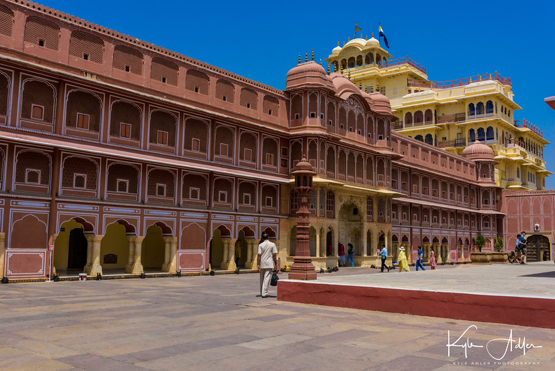 Jaipur's City Palace was the seat of Rajasthan's rulers.