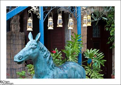 סוס הברונזה, וילה תהילה