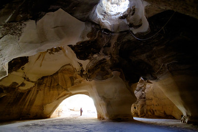 The caves of Bet Guvrin, Israel