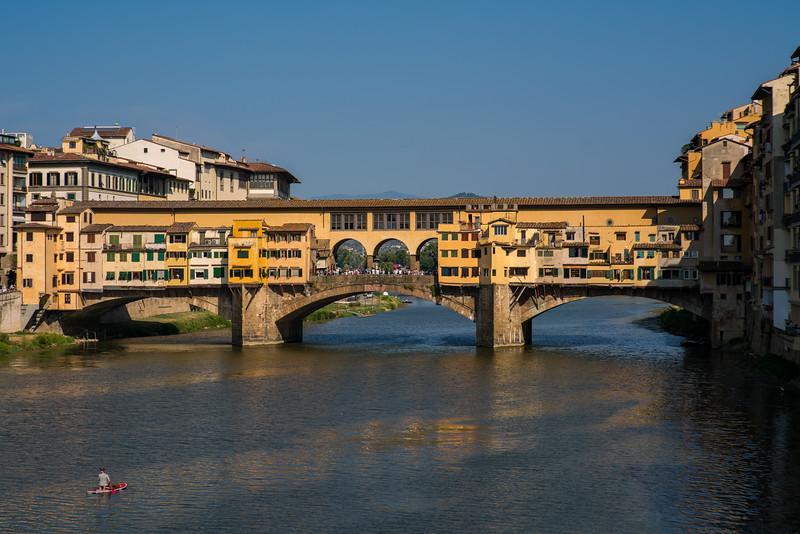 Ponte Vechhio Bridge, Florence Italy