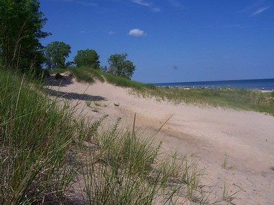 Lake Michigan in July 08