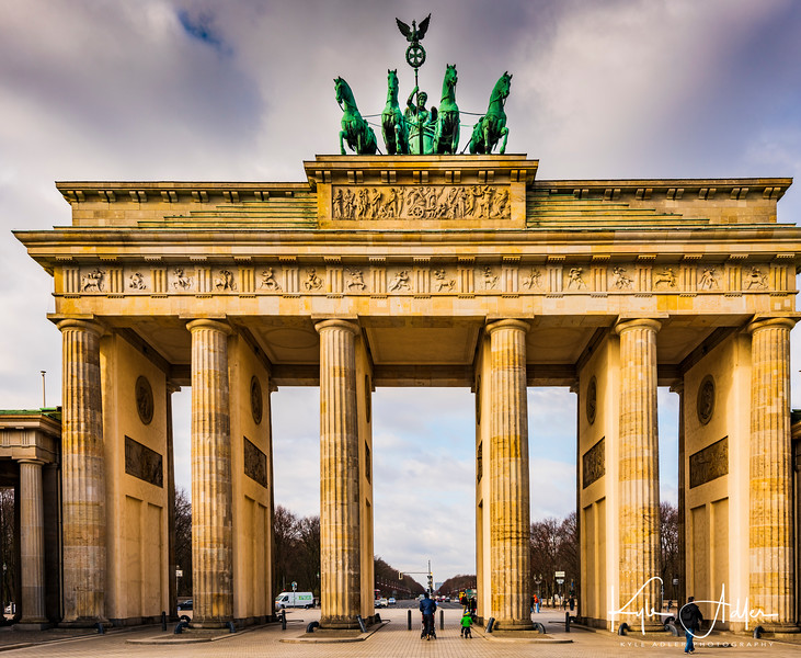 No visit to Berlin would be complete without passing through the stately neoclassical Brandenburg Gate.