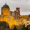 Pena Palace was built in several styles to emphasize the unity of Portuguese culture.