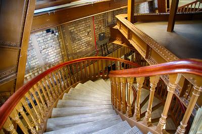 Stairs at Tower Bridge
