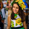 The Children's Parade, held on Friday morning, brings out many of Funchal's schoolchildren wearing a diverse array of costumes.   I am grateful to the Madeira Promotion Bureau for their assistance providing access to the Carnival events.