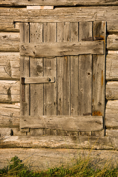 Old barn detail.
