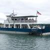 Madeline Island ferry.