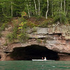 Kayaking the Madeline Island North coast