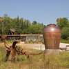 Eckles Pottery outside Bayfield.
