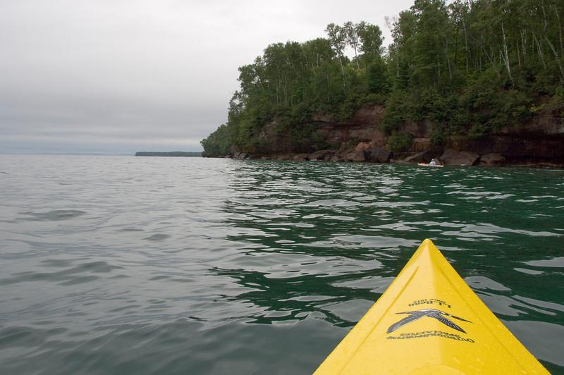 Kayaking the Madeline Island North coast