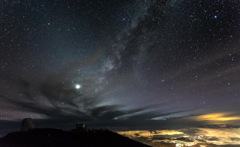Milky Way over Maui