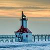St Joseph North Pier Lighthouse, St Joseph, Michigan
