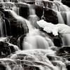 Bond Falls, Winter Paulding, Michigan Upper Pennsula