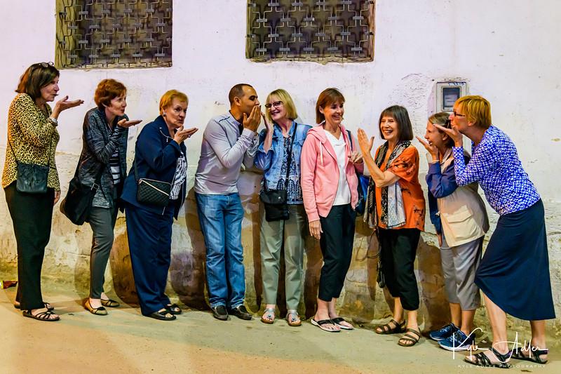 More postprandial amusement in Fez.