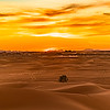 Sahara sunset.
