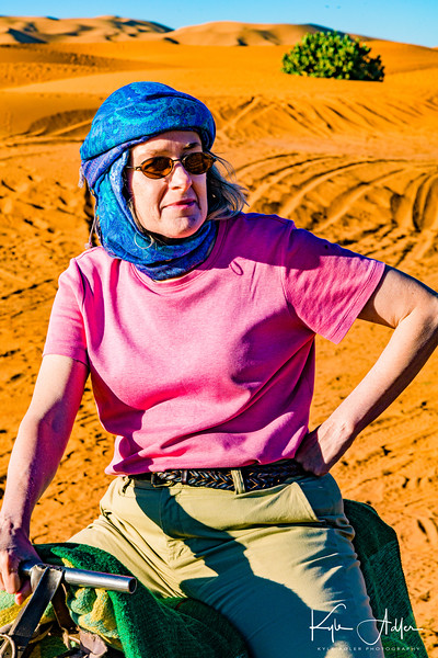 Mary loved her dromedary ride through the desert.  I loved my ride somewhat less.  Ever try to photograph from atop the lurching single hump of a dromedary?  I have.