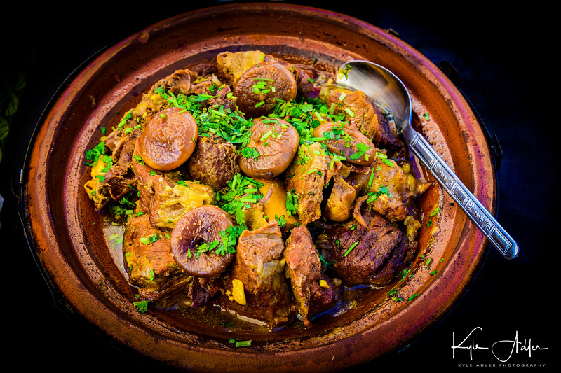 A beautiful tagine served at lunch during our hike.