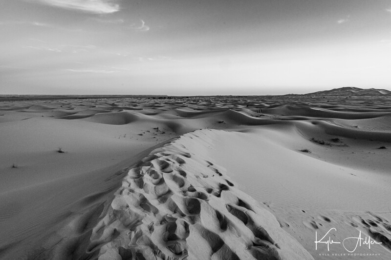 Otherworldly beauty in the Sahara.