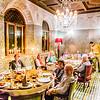 Farewell dinner in Marrakesh.