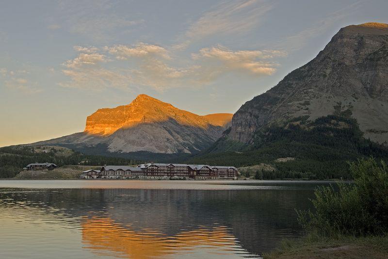 Mnay Glacier Hotel.