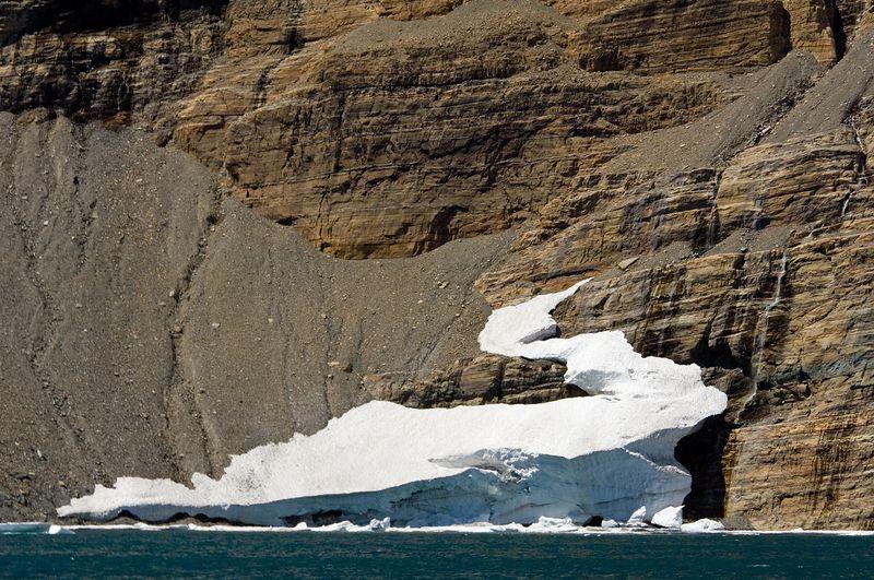 Iceberg in Iceberg Lake.
