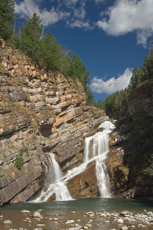 Cameron Falls, Waterton Village.